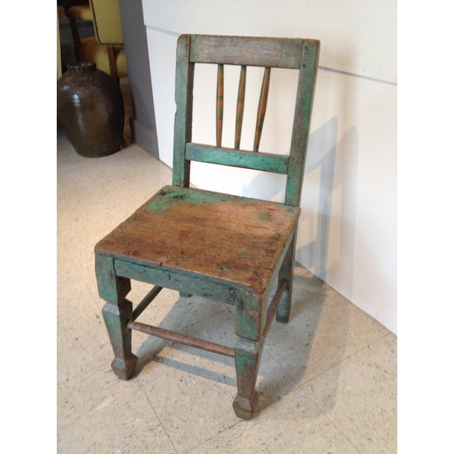 1940s Rustic Children's Chair - Image 3 of 5