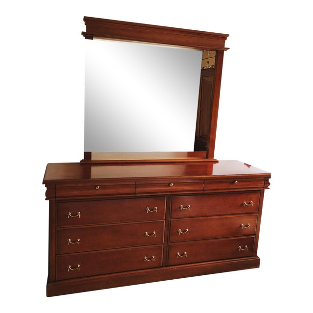 American Empire Style Dresser For Sale