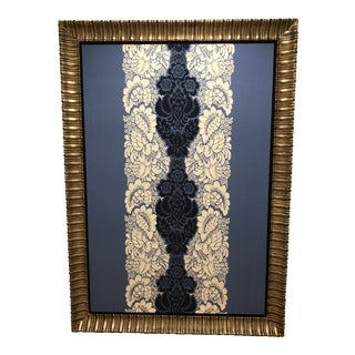 Gold Framed Merimekko Fabric For Sale
