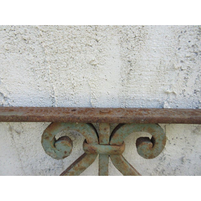 Antique Victorian Iron Gate or Garden Fence For Sale In Philadelphia - Image 6 of 6