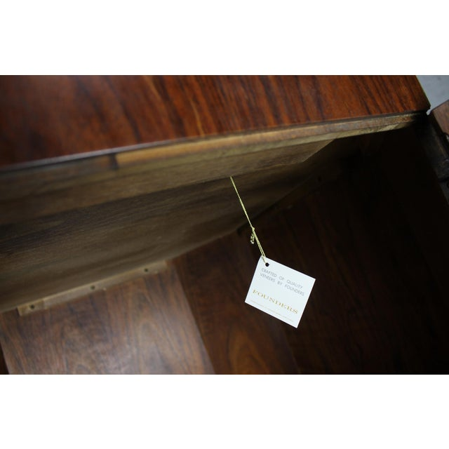 Brown Vintage Founders Furniture Cabinet Table For Sale - Image 8 of 11