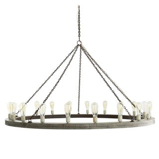 Arteriors Geoffrey 12 Light Chandelier For Sale