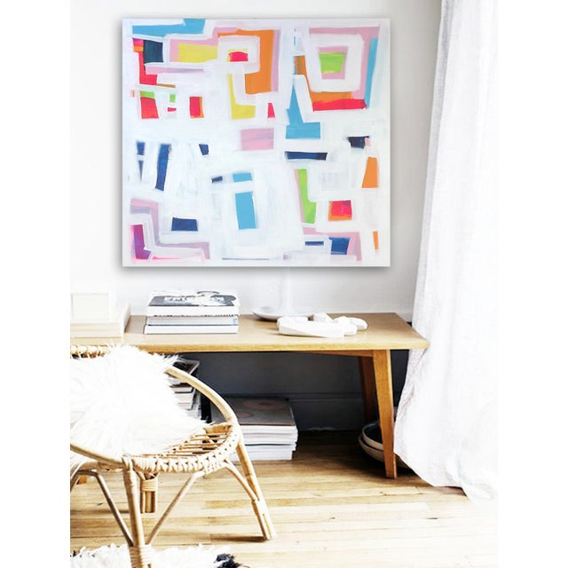 'P-TOWN FUNK' Original Abstract Painting - Image 6 of 8