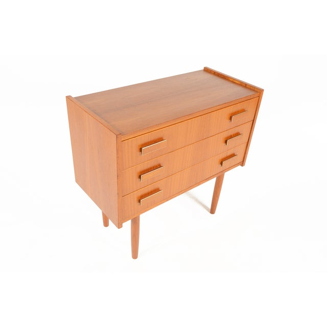Danish Modern Ejsing Mobelfabrik 3-Drawer Chest - Image 4 of 10