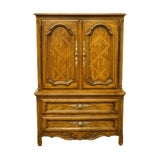 Image of Drexel Heritage Cabernet II Collection Country French Armoire For Sale