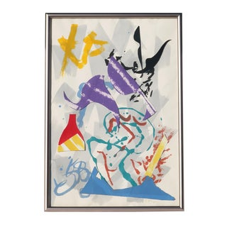 "Leonard Moskowitz ""Untitled"" Painting (1983) For Sale"