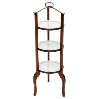 3-Tier Serving Stand W Brass Handle Preview
