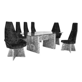 Adrian Pearsall Dining Set