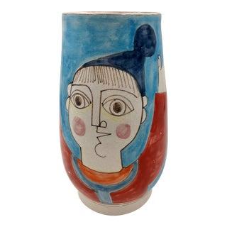 Vintage Mid Century DeSimone Italian Vase For Sale