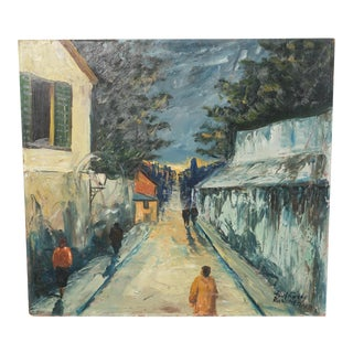 Rue Rosier, Paris Streets Cityscape by Poul Fureby For Sale