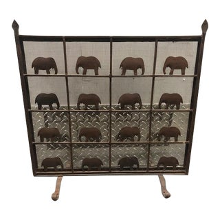 1950's Vintage Fire Screen For Sale