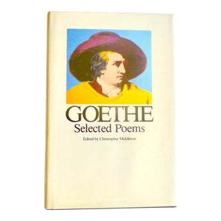 Goethe Selected Poems Book For Sale
