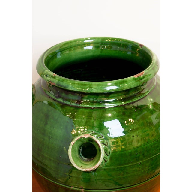 Late 19th Century French Provençal Storage Jar, Late 19th Century For Sale - Image 5 of 6