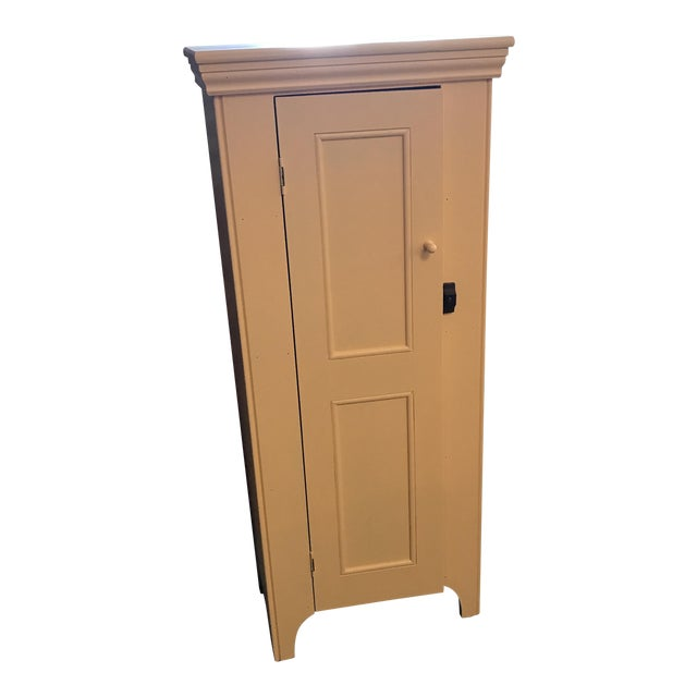 Country Yellow Pine Cupboard For Sale