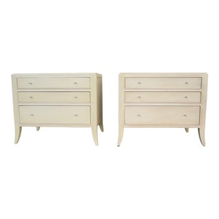 Barbara Barry for Baker Furniture Nightstands-a Pair For Sale