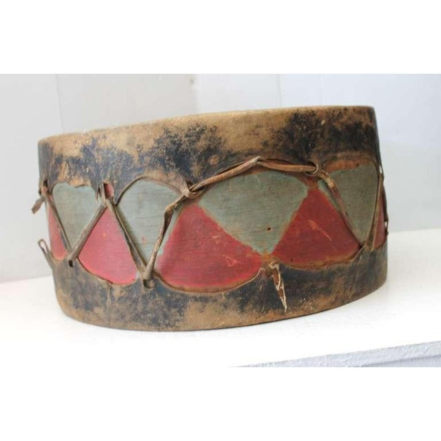 American Pueblo de Cochiti Ceremonial Drum For Sale - Image 3 of 8