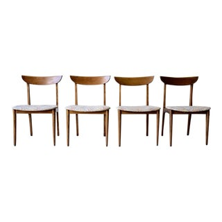 Mid Century Modern Dining Chairs, Set of 4 For Sale