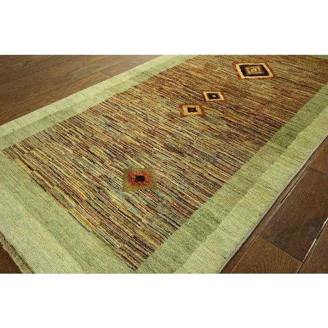 New Oushak Green Chobi Area Rug - 3' x 6' - Image 5 of 9