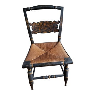 1800's Antique Hitchcock Chair For Sale