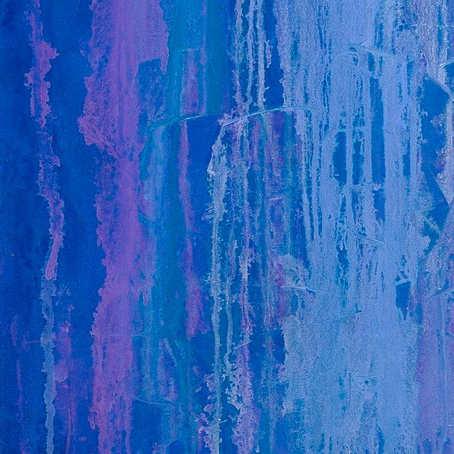 Teodora Guererra Iris Field, Contemporary Abstract Painting by Teodora Guererra, Oil on Canvas, 2013 For Sale - Image 4 of 6