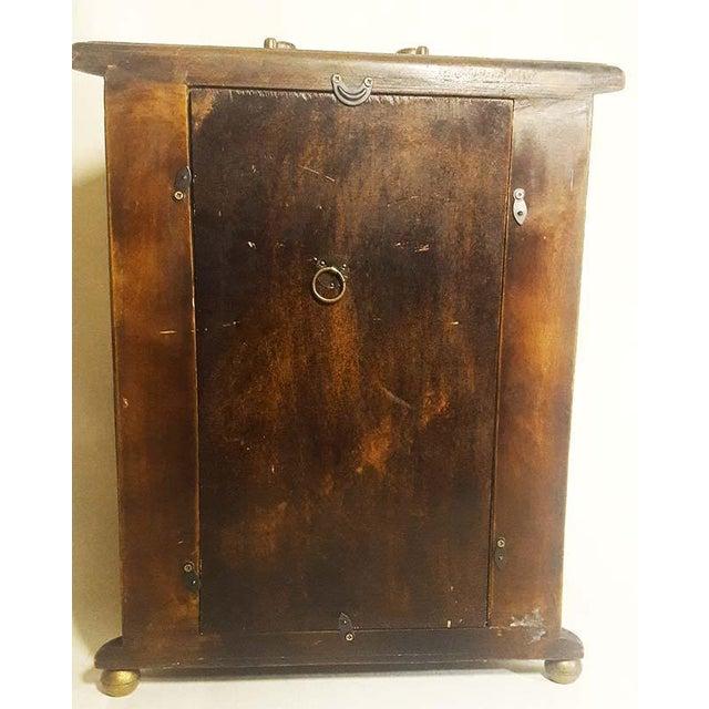 Vintage Mantel Pendulum Clock - Image 6 of 7