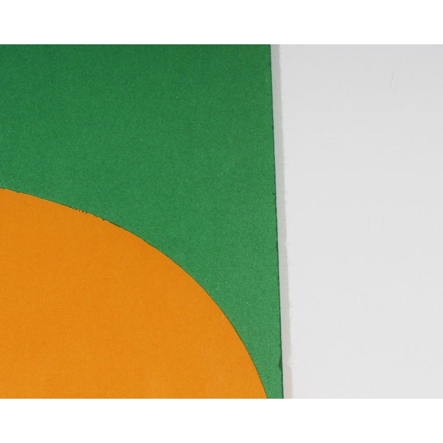 "1960s 1964 Ellsworth Kelly Lithograph From ""Derriere Le Miroir,"" No. 164 For Sale - Image 5 of 6"