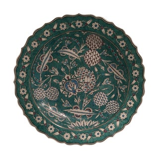 İsmail Yigit Ceramic - Cini Plate For Sale