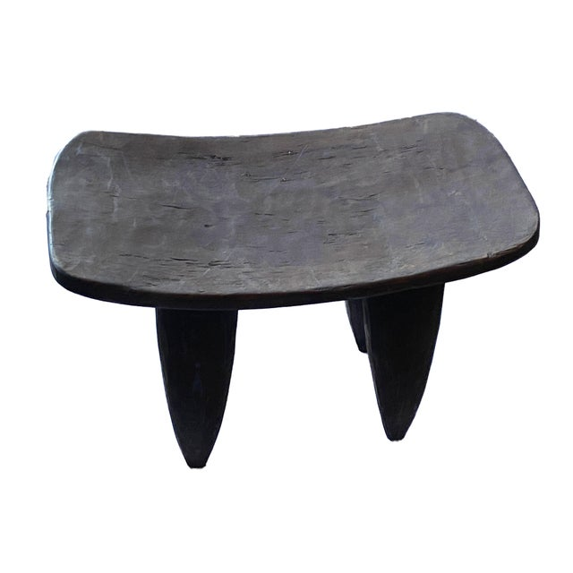 1980s Vintage African Senufo Stool For Sale - Image 5 of 8