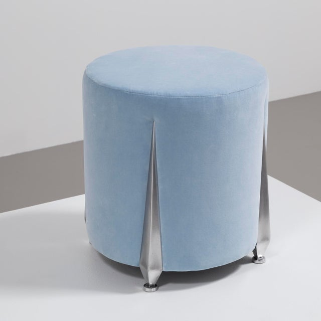 Contemporary The Iris Stool by Talisman Bespoke For Sale - Image 3 of 10