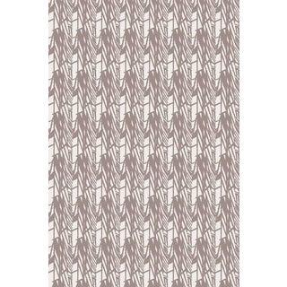 Velveteen Warm Grey Wallpaper For Sale