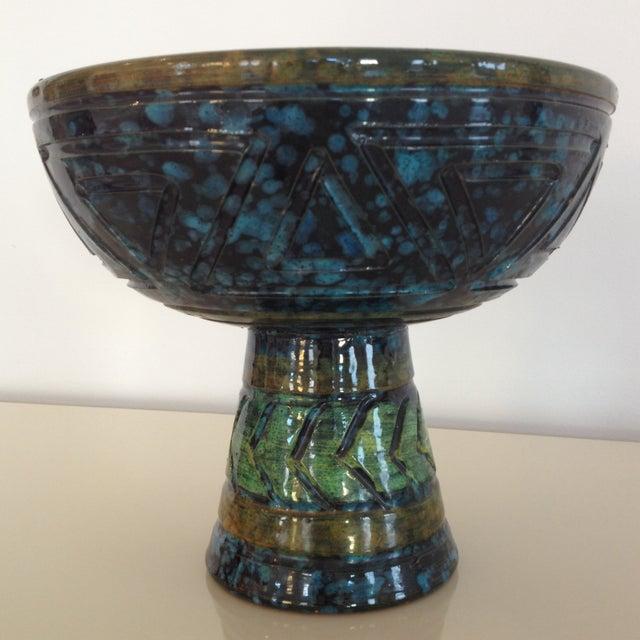 Bitossi Mid-Century Pedestal Bowl - Image 4 of 5