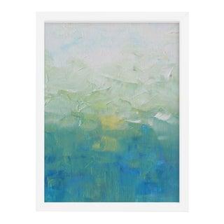 Abstract Impressionism Landscape Print, Framed For Sale