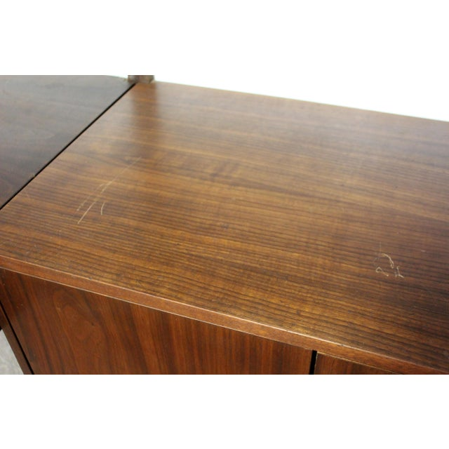 Mid Century Modern Danish Cado Walnut Wall Unit by Poul Cadovious For Sale In Detroit - Image 6 of 8