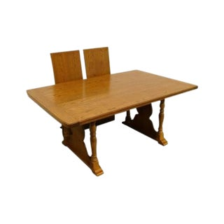 20th Century Traditional Thomasville Furniture Salem Tavern Collection Dining Table For Sale