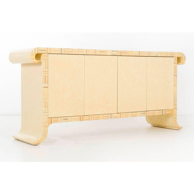 Baker Furniture Company 1980's Credenza by Alessandro Gambrelli for Baker For Sale - Image 4 of 11