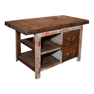 Rustic Work Table For Sale