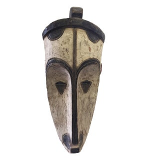 "Superb African Fang Mask Gabon 24"" H"