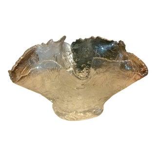 Sculptural Free Form Handkerchief Bowl