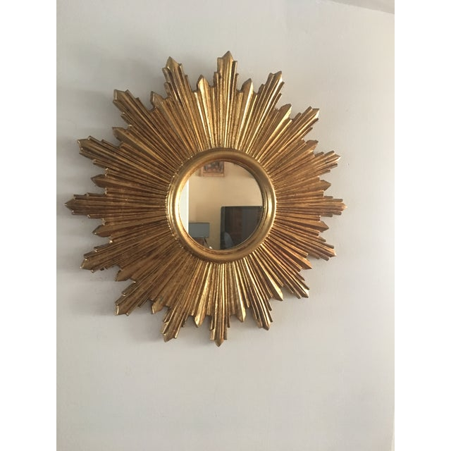 Italian Gilt Sunburst Mirror - Image 3 of 8