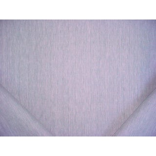 4-5/8y Holland and Sherry De92089 Blue Gray Linen Herringbone Upholstery Fabric For Sale