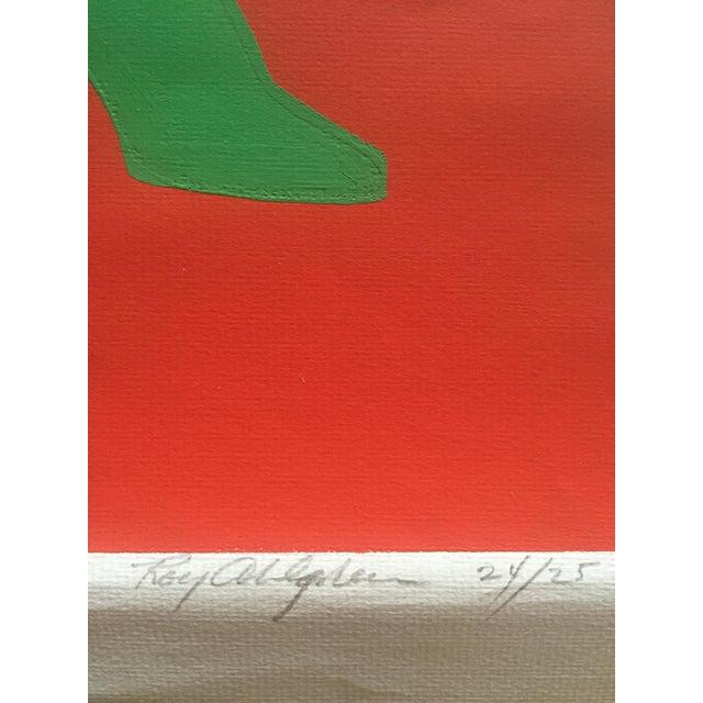 "1960s 1968 Signed Roy Ahlgren Silkscreen ""Three Graces"" For Sale - Image 5 of 7"