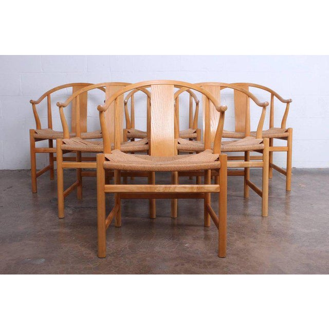 Asian Six Chinese Chairs by Hans Wegner for PP Mobler For Sale - Image 3 of 11
