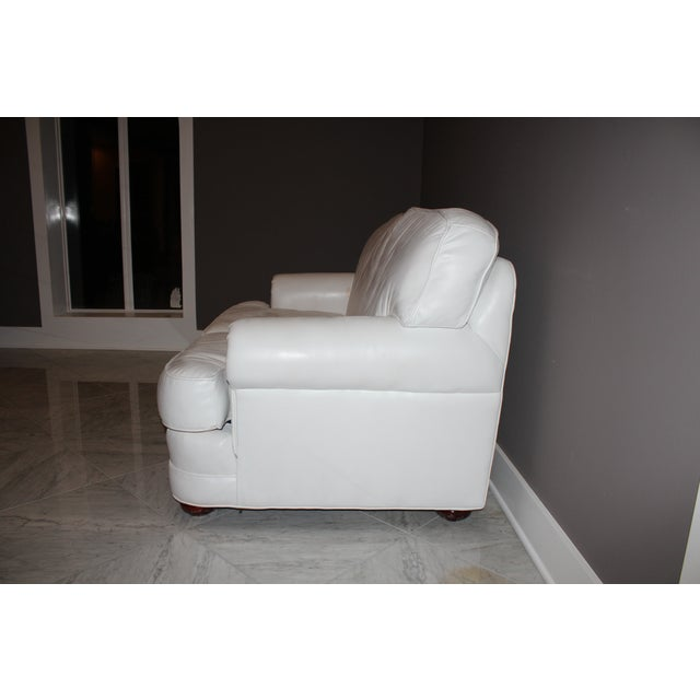 Top Grain Leather Loveseat by Emerson Leather - Image 5 of 10