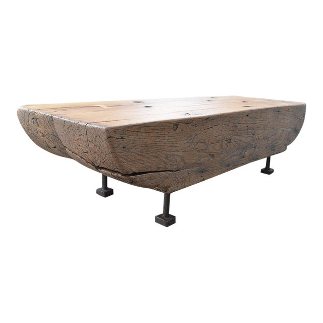 Oz|shop Antique Oak Corbel Coffee Table For Sale