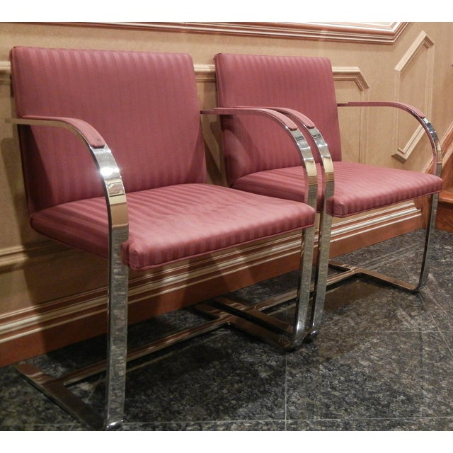 Pair of 1960s Mies Van Der Rohe Brno Chairs for Bruerton - a Pair - Image 2 of 11