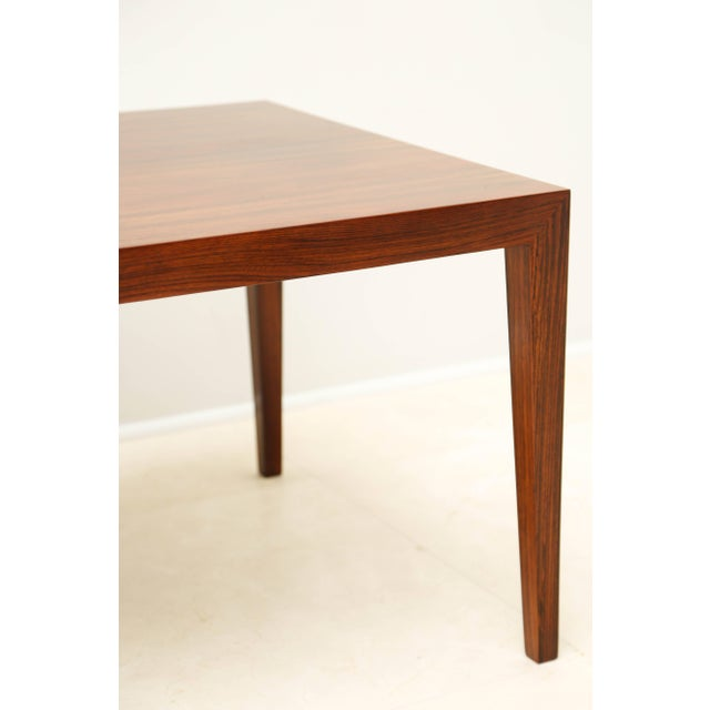 Mid-Century Modern Gorgeous Rosewood Side Table, Denmark, 1960s For Sale - Image 3 of 6