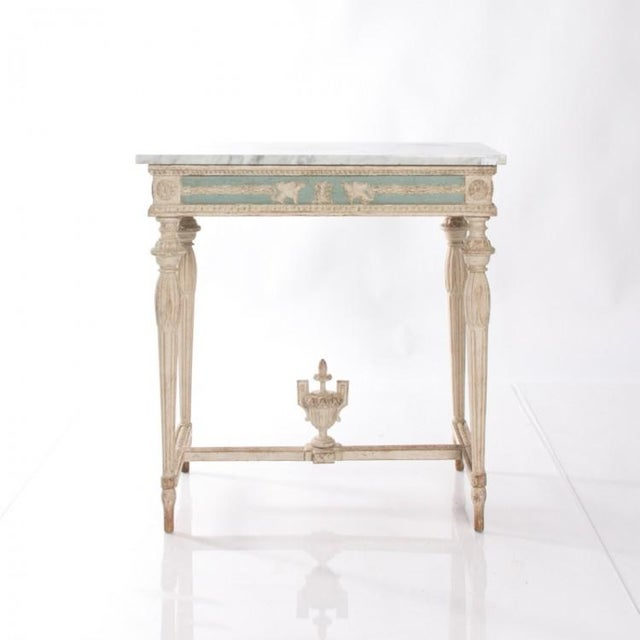 Late 19th Century Early 19th Century Swedish Empire Console For Sale - Image 5 of 10