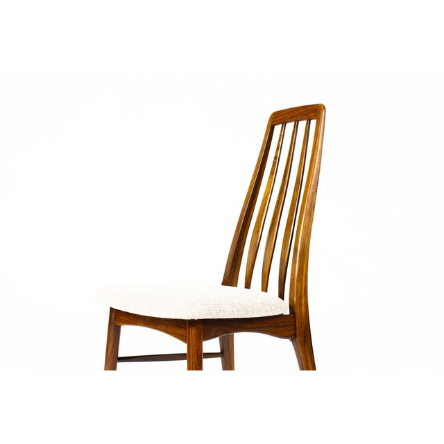 "Danish Modern / Mid-Century ""Eva"" Dining Chairs — Niels Koefoed — Rosewood Frames — Set of 4 For Sale - Image 9 of 11"