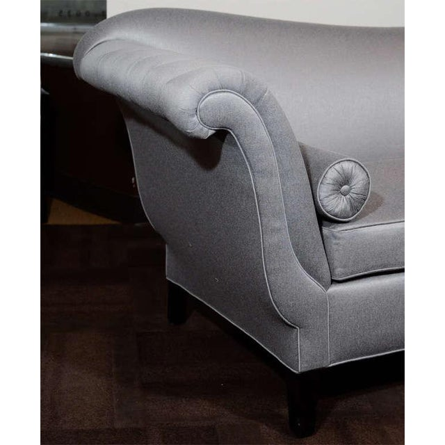 Early 20th Century 1940s Hollywood Scrolled Sofa For Sale - Image 5 of 11