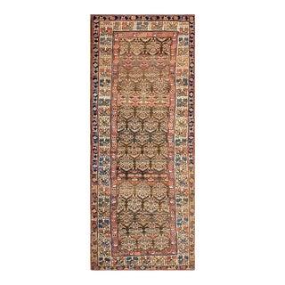 "Antique Persian Kurdish Rug 4'0"" X 9'6"" For Sale"